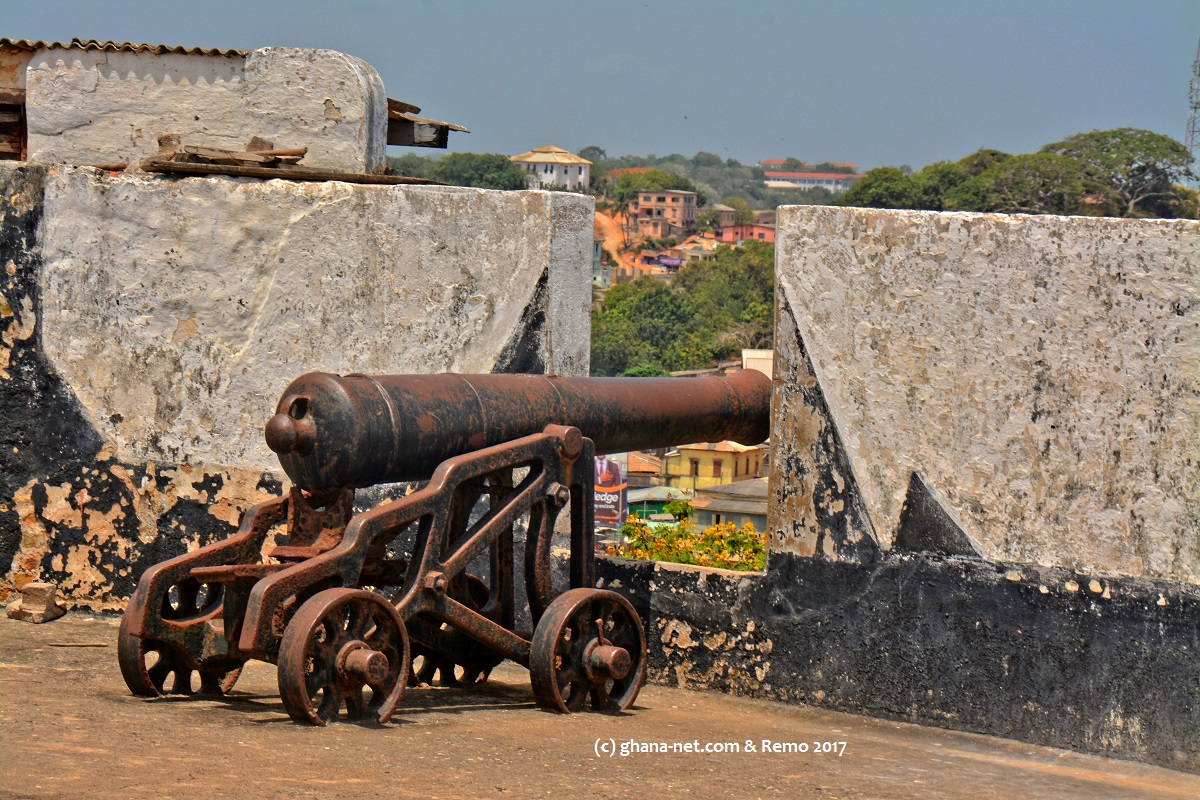 Cape Coast, Fort William, British Fort  3