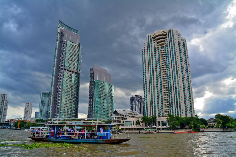 Bangkok, Thailand - River City Panorama 1