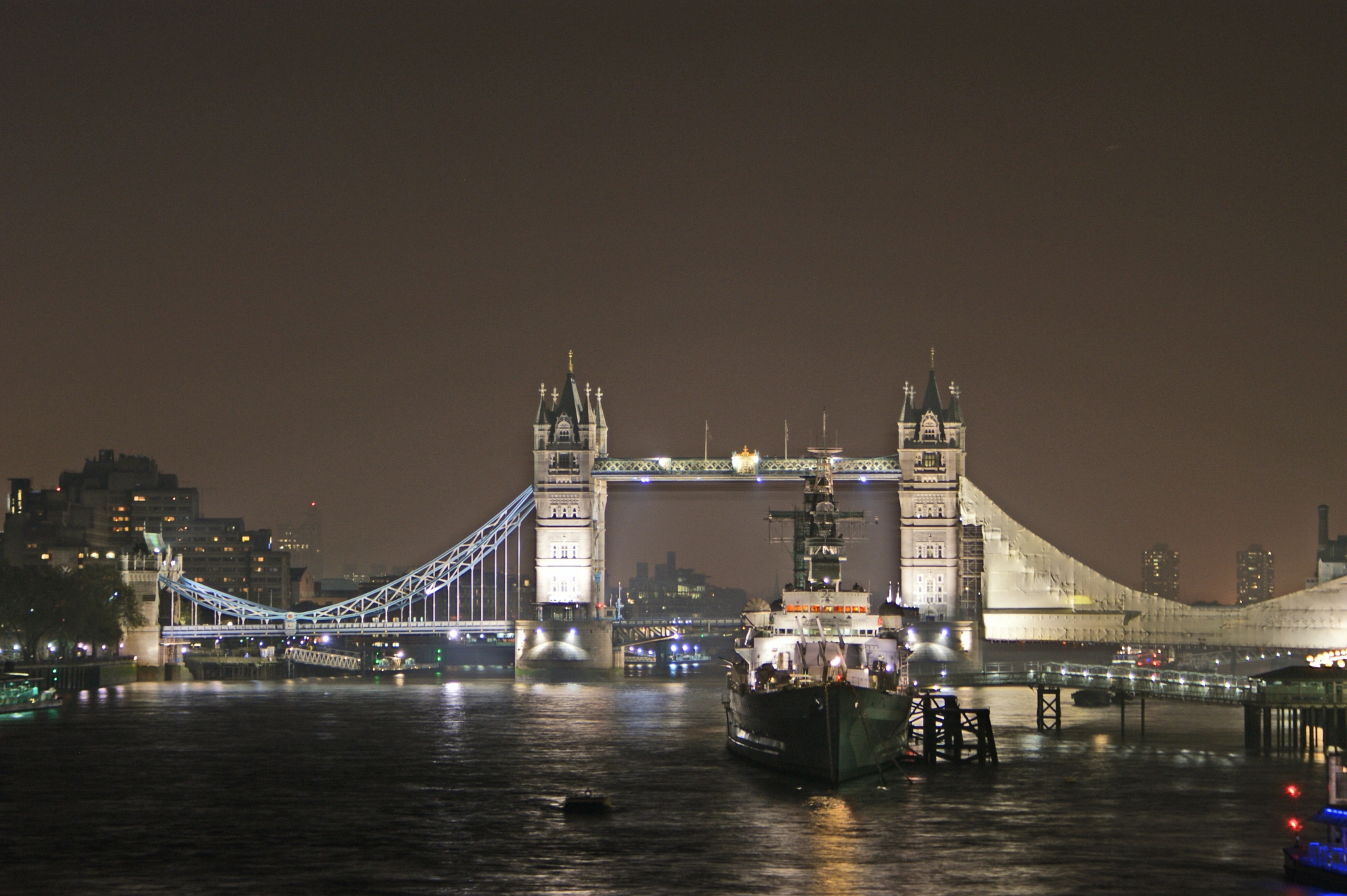 London at Night - Tower Bridge 1