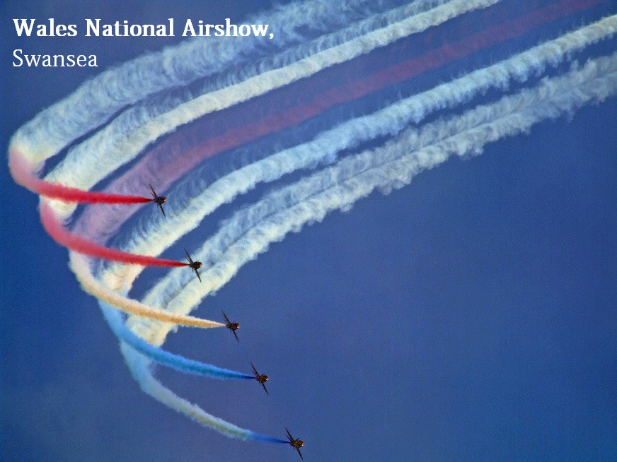 Wales National Air Show, Swansea, Red Arrows