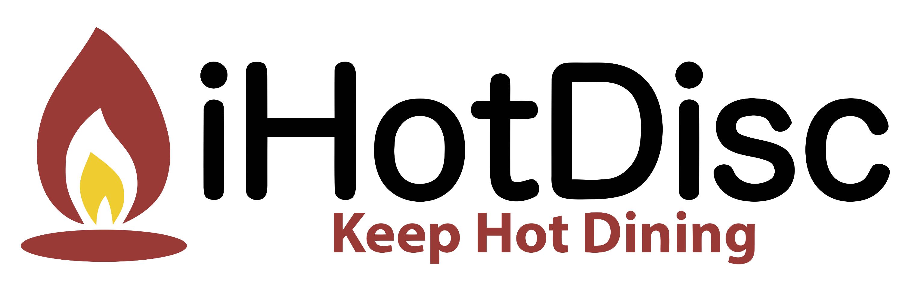 iHotDisc Keep Hot Dining Logo
